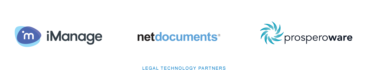 iManage | netdocuments | prosperoware